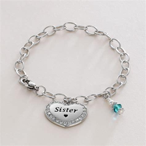 engraved birthstone bracelet auntie etc