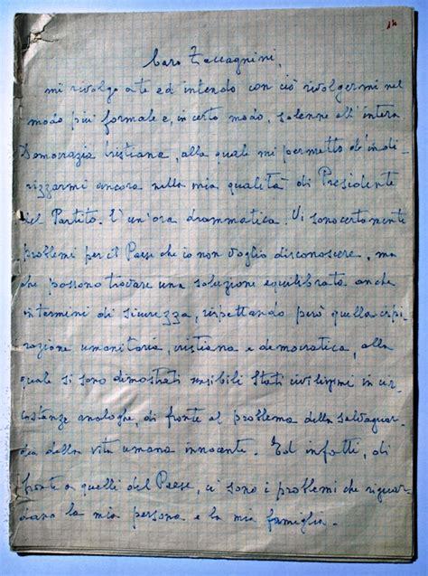 lettere di moro cultura italia un patrimonio da esplorare