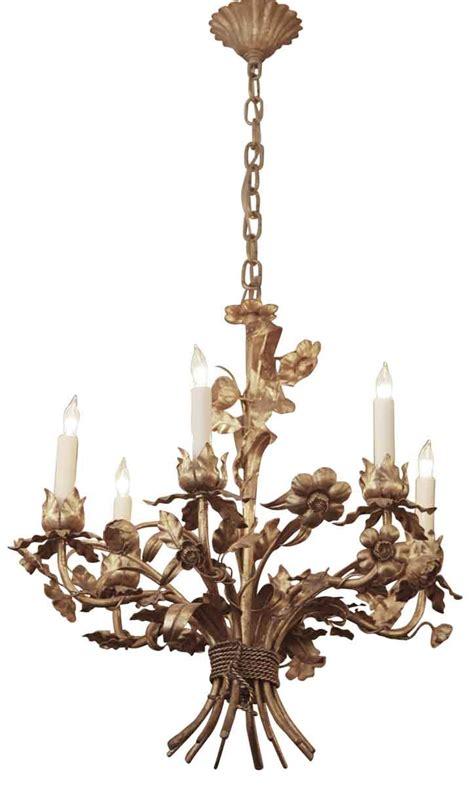 antique white metal mini chandelier gilt metal italian chandelier olde things
