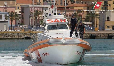 capitaneria di porto di porto empedocle guardia costiera di porto empedocle sanzionati 10 unit 224
