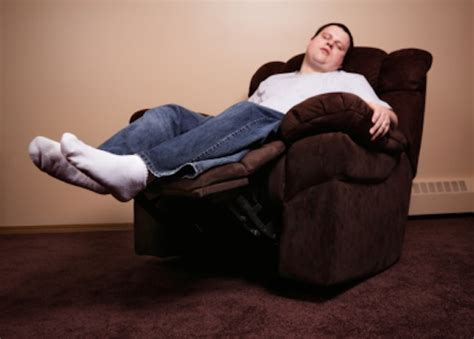 man in recliner dirtiest places in your home