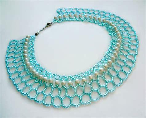free beading tutorials free pattern for necklace azul magic bloglovin