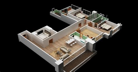 2828 house floor plan 3d 3d floor plan evermotion