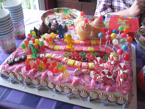candyland cakes decoration ideas birthday cakes
