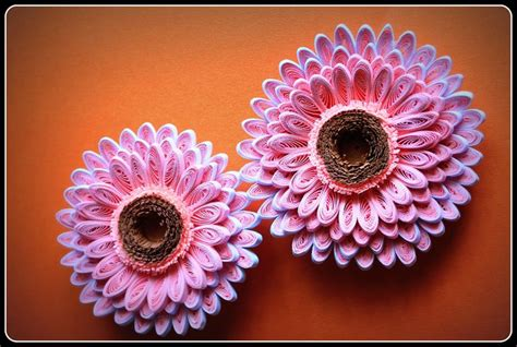 quilling gerbera tutorial 185 best images about quilling flowers daisies