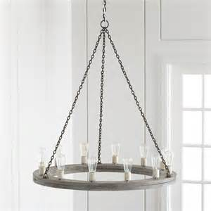 rustic chandelier gray wood rustic chandelier