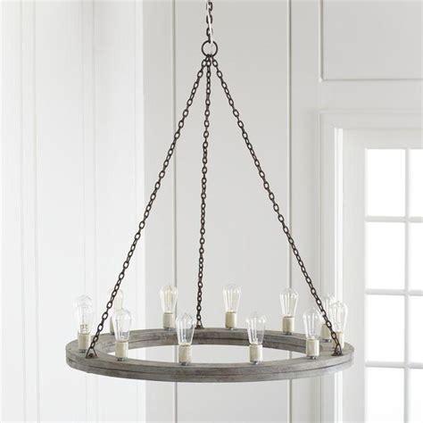 holz kronleuchter gray wood rustic chandelier
