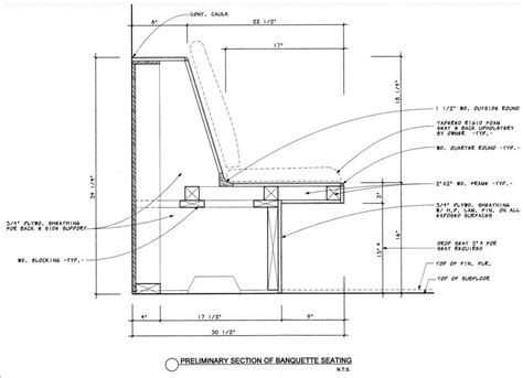 kitchen bench dimensions how do we build in a banquette and ensure it s comfortable