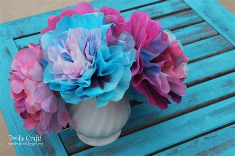 How To Make Paper Flowers Out Of Coffee Filters - coffee filter flowers great for s day and