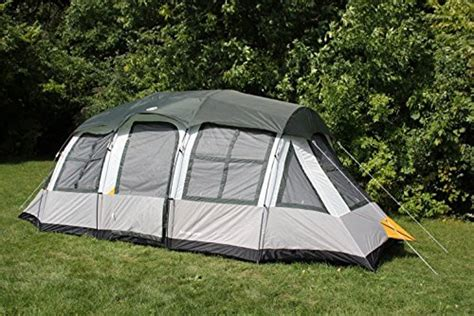 Cabin Tents Cheap by Tahoe Gear Prescott 12 Person 3 Season Family Cabin Tent