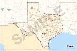 zip code maps texas  travel information