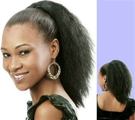 Short Ponytails For Short African American Hair | short ponytails for short african american hair african