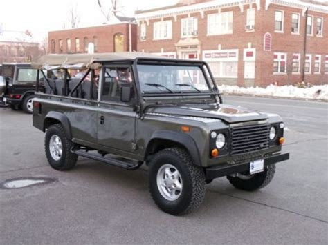land rover defender convertible for sale buy new 1994 land rover defender 110 convertible