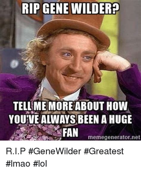 Gene Wilder Meme - funny gene wilder memes of 2017 on sizzle wilders