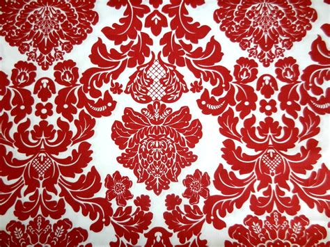 red damask wallpaper home decor red damask wallpaper home decor red damask wallpaper home