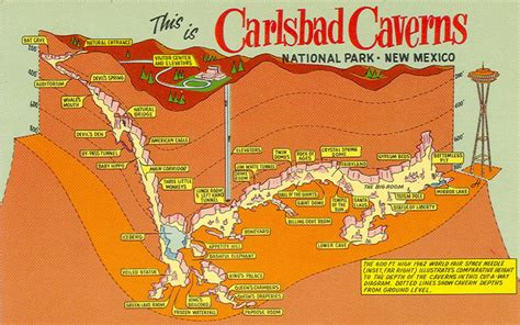File:NPS carlsbad caverns postcard map   Wikimedia Commons