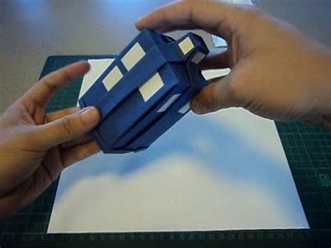 Origami Tardis - origami tardis