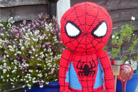 pattern for crochet spiderman doll free spiderman crochet pattern amigurumi doll tutorial