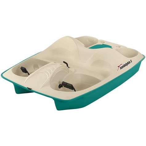 sun dolphin 3 person pedal boat sun dolphin stainless steel 5 person pedal boat 31553