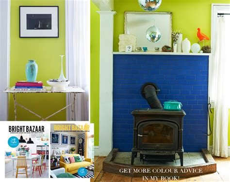 bazaar home decorating colour advice how to decorate with lime green bright