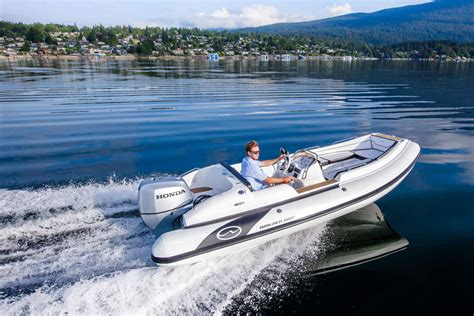 dinghy boat facts walker bay generation 525 rib a tender that s a serious