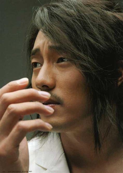 so ji sub long hair so ji sub korean actors שחקנים קוריאנים pinterest