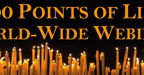 1000 Points Of Light by The Golden Quot Free World Wide Webinars Quot 1 000