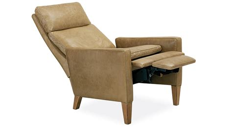 Circle Furniture Outlet by Circle Furniture Max Recliner Leather And Fabric