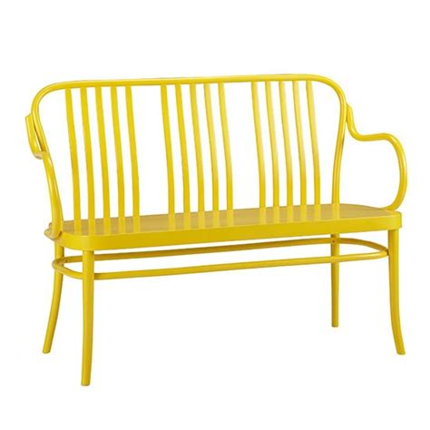 the yellow bench sonny yellow bench from crate barrel benches