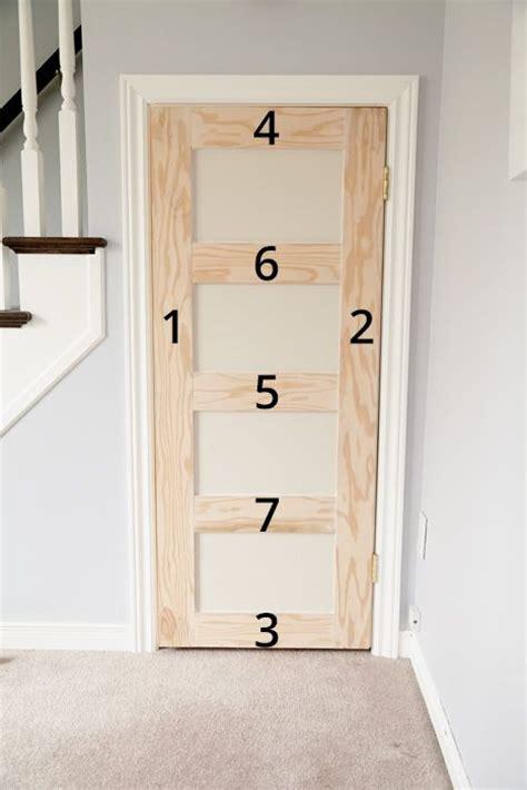 Build An Interior Door 25 Best Ideas About Door Trims On Door Casing Window Moldings And Craftsman Trim
