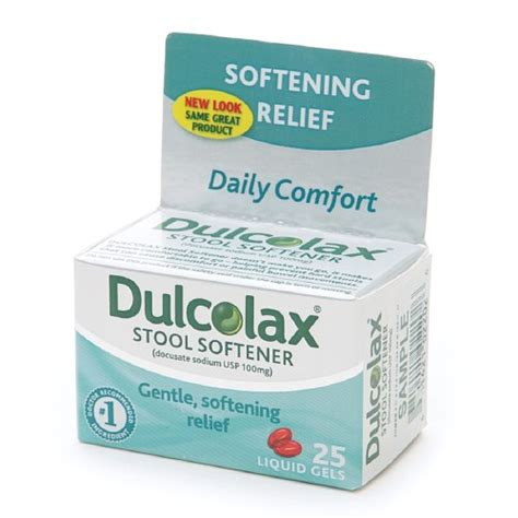 Stool Constipation Relief by Buy Dulcolax Stool Softener Liqui Gels 25 Ea