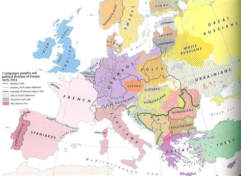 1914 political map of europe european political and ethnic divisions 1914 550x401