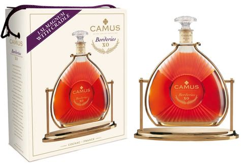 camuas o cognac camus x o borderies gift box with cradle 1 5 l price reviews