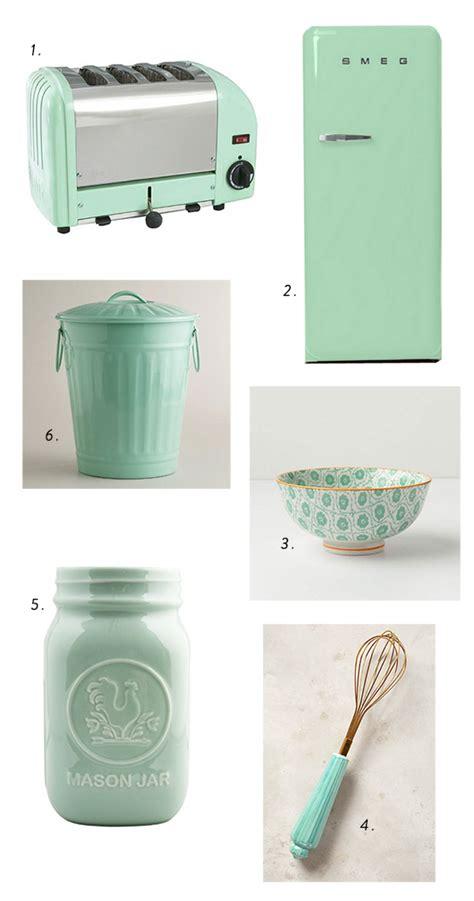 Mint Green Kitchen Accessories by Make Mine Minty Green Sfgirlbybay
