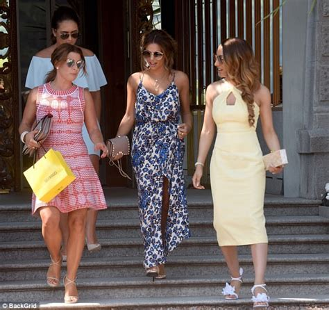 Coleen Mcloughlins 15 Million Wedding Deal 2 by Coleen And Wayne Rooney At Chris Smalling S Italy Wedding