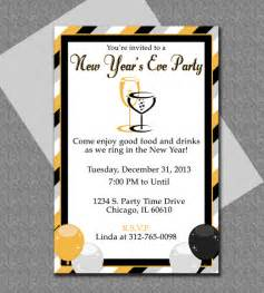 new year templates new years invitation editable template