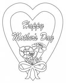 mothers day pictures to color happy s day coloring pages picture