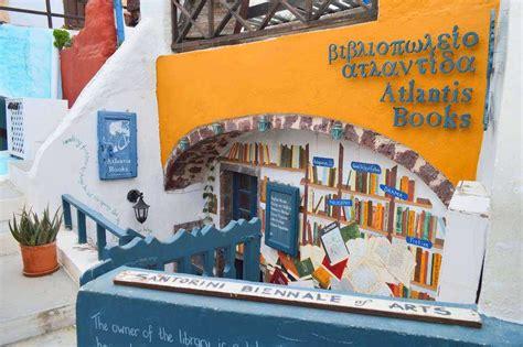 libreria atlantide atlantis books a santorini una delle librerie pi 249