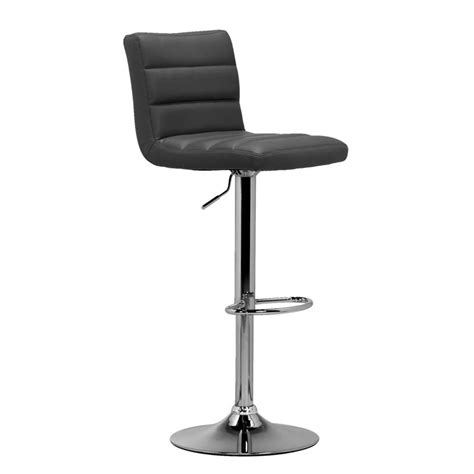 Tabouret De Bar Gris by Tabouret De Bar Leeds Gris Couleur Chrome