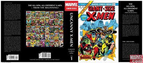 uncanny x men omnibus vol 0785199225 marvel releases new printings of omnibus editions comic vine
