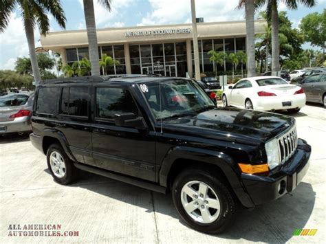 Jeep Commander All Black 2008 Jeep Commander Sport In Brilliant Black Pearl