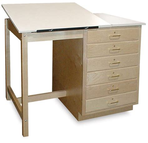 51698 1020 Hann Drafting Tables Blick Art Materials Drafting Table Storage