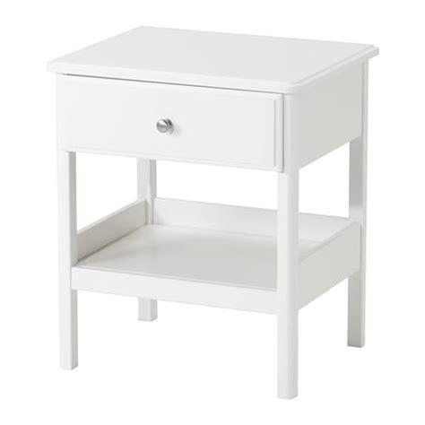 nachttisch ikea tyssedal bedside table white 51x40 cm ikea