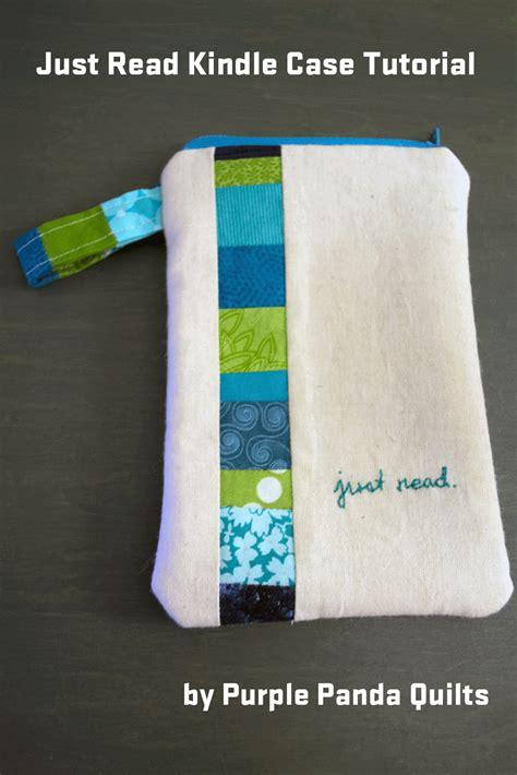 kindle tutorial online purple panda quilts just read kindle case tutorial