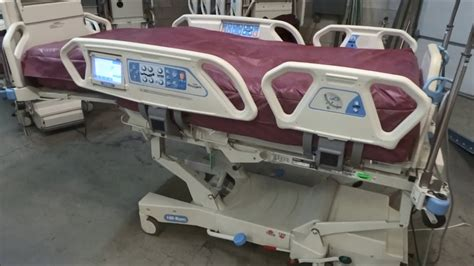 hill rom p totalcare sport  air mattress hospital bed