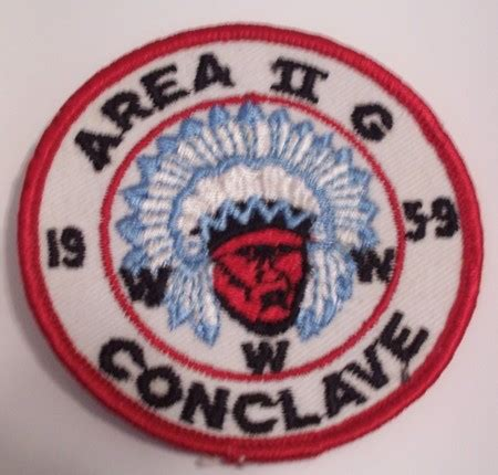 Mine Pocket Patch area 2 g 1959 conclave patch new york oa trader