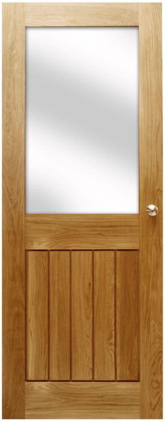 Half Glazed Exterior Doors Mexicano Contemporary Solid Oak Door Half Glazed