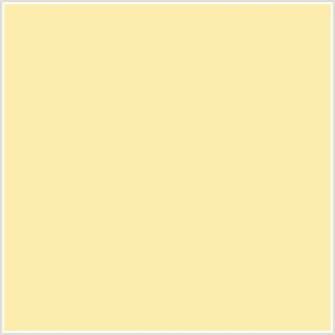 banana color fcecae hex color rgb 252 236 174 banana mania