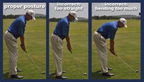 posture in the golf swing chuck westergard golf professional golf instruction