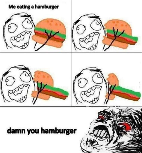 Meme Humor - funny damn you burger meme jokes